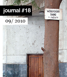 Generic Objects - E-flux Journal No.18