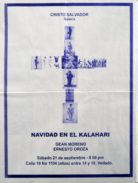 Navidad-en-el-Kalahari-Oroza-Moreno-Poster