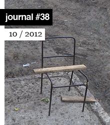 ernesto oroza e-flux journal #38 portada