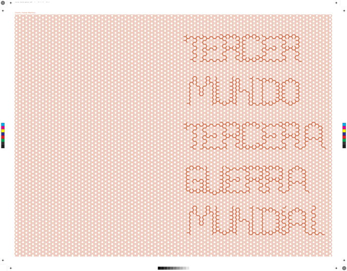 Poster designed by Fabian Martinez for Tercer Mundo Tercera Guerra Mundial project.