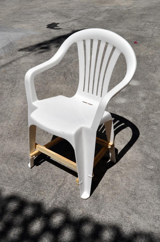 silla corregida, 2016